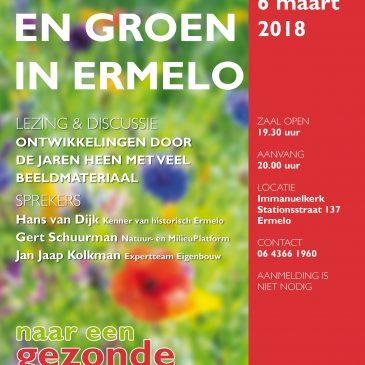 thema-avond Wonen en Groen in Ermelo