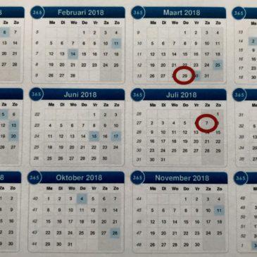 7 juli – 100 dagen beëdigd raadslid…